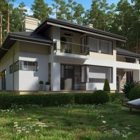 сучасний проект будинку СН-268