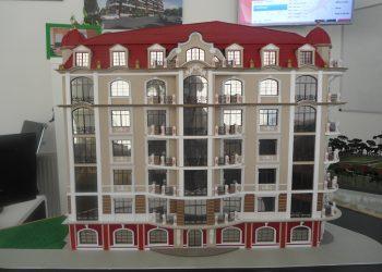 """Готовый макет многоэтажного комплекса """"Авалон Классик"""""""