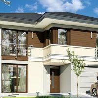 Проект дома СН-302 від проектного бюро CH proekt