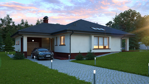 Проекти одноповерхових будинків  готові та типові 8bc92792e30c6
