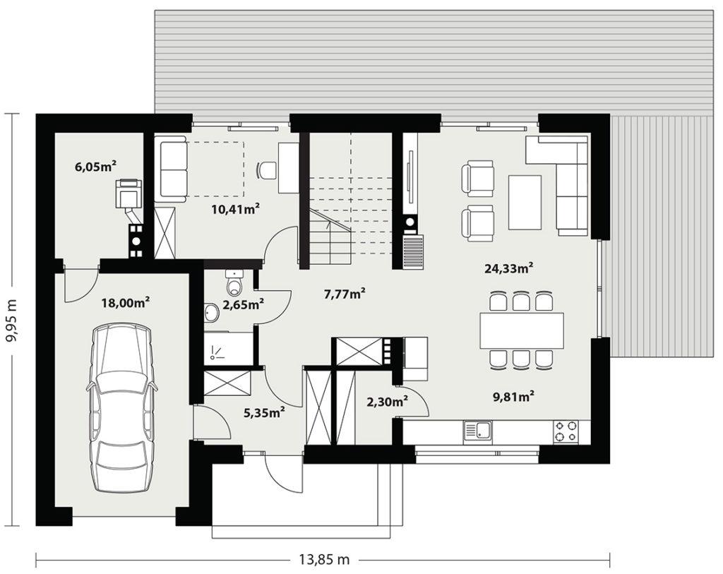 План проекту будинку